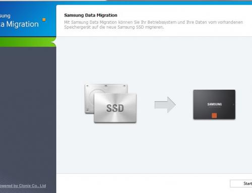Anleitung für das Klonen Ihres Betriebssystems auf eine SSD